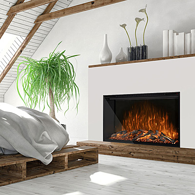 Modern Flames - Modern Electric & Contemporary Fireplaces